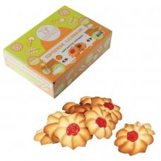 Печенье БИСКОТТИ 'Курабье', сдобное, 675 г, картонная коробка