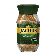 Кофе растворимый JACOBS MONARCH Якобс Монарх, сублимированный, 95 г, стеклянная банка, 11309